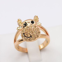 Cow Ring Rose Gold