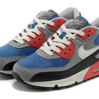 Nike Air Max 90 Unisex Sport Casual Multicolor Air Cushion Sneakers Couple Running Shoes-4