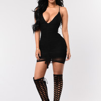 Azealia Dress - Black
