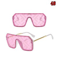 FENDI Hot Sale Women and Men Letter Print Sunshade Glasses Sunglasses