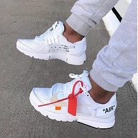 Trendsetter  Nike x OFF-WHITE Women Men Fashion Casual Sneakers Sport Shoes