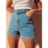 Alena Denim Shorts