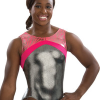 Coral Animal Fusion Workout Leotard from GK Elite