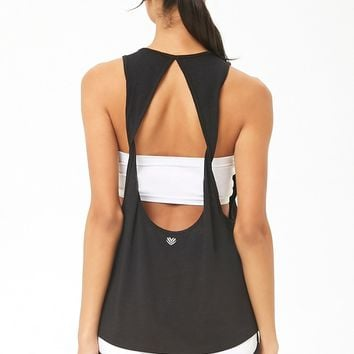 Active Back Cutout Muscle Tee