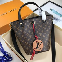 New LV Louis Vuitton Women's Leather Shoulder Bag LV Tote LV Handbag LV Shopping Bag LV Messenger Bagsoes