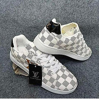 Louis Vuitton LV sneakers sports casual shoes men and women trendy fashion all-match shoes white shoes