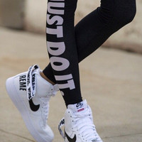 Just do it explosion-proof cotton leggings