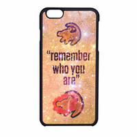 Lion King Samba Remember Who You Are iPhone 6 Case