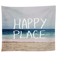Happy Place Ocean Tapestry