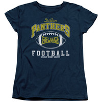 FRIDAY NIGHT LIGHTS/STATE CHAMPS - S/S WOMEN'S TEE - NAVY - SM - NAVY -