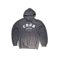 Featuring super soft blended material with CBGB & OMFUG Logo, Home of Underground Rock print on front, crewneck, adjustable hoodie, long sleeves and finish with sharing pockets at front. Unlined.