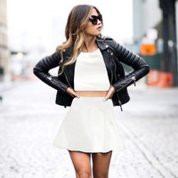 Hot Sale Stylish Casual Style Crop Top Elegant One Piece Dress [6281468996]