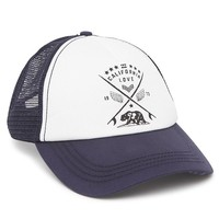Billabong Pit Stop Trucker Hat - Womens Hat - Blue - One