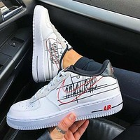 NIKE AIR FORCE 1 '07 3 AF1 Sneakers Shoes