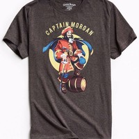 Captain Morgan T-Shirt Charcoal NWT Licensed & Official