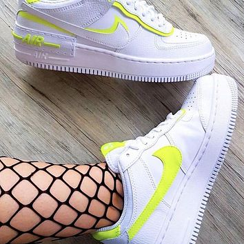 Nike Air Force 1 Shadow Women's Low-Top Sports Running Shoes