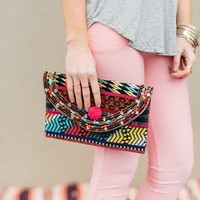 In the Clutch Kantha Purse