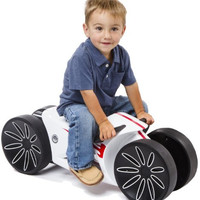 Ride - On Bike, White/Red Toys For Kids