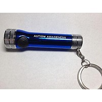 Autism Awareness Mini Flashlight