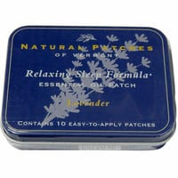 Natural Patches Of Vermont - Lavender Relaxing Sleep Essential Oil Patches - 10