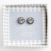 Women's Bonnie Jonas Boxed Set of Crystal Halo Stud Earrings