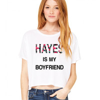 Hayes Grier Hayes Grier Is My BF Flowy Tee - BLV Brands