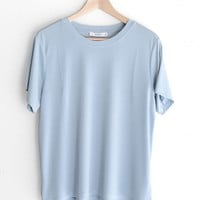 Basic Tee - Light Blue