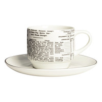 Cup & Saucer - from H&M
