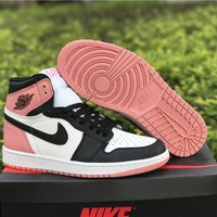 "Air Jordan 1 Retro High Art Basel ""Rust Pink"" AJ1 Sneakers - Best Deal Online"