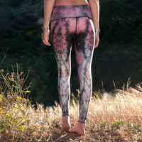 Teeki Eagle Feather Pink Hot Pant