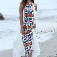 Tribal Perfection Maxi Dress