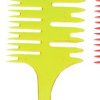 Hair Style Beauty Salon Barber Hair Comb With Fish Tail Bone Shape Comb Dyeing Tool 2*