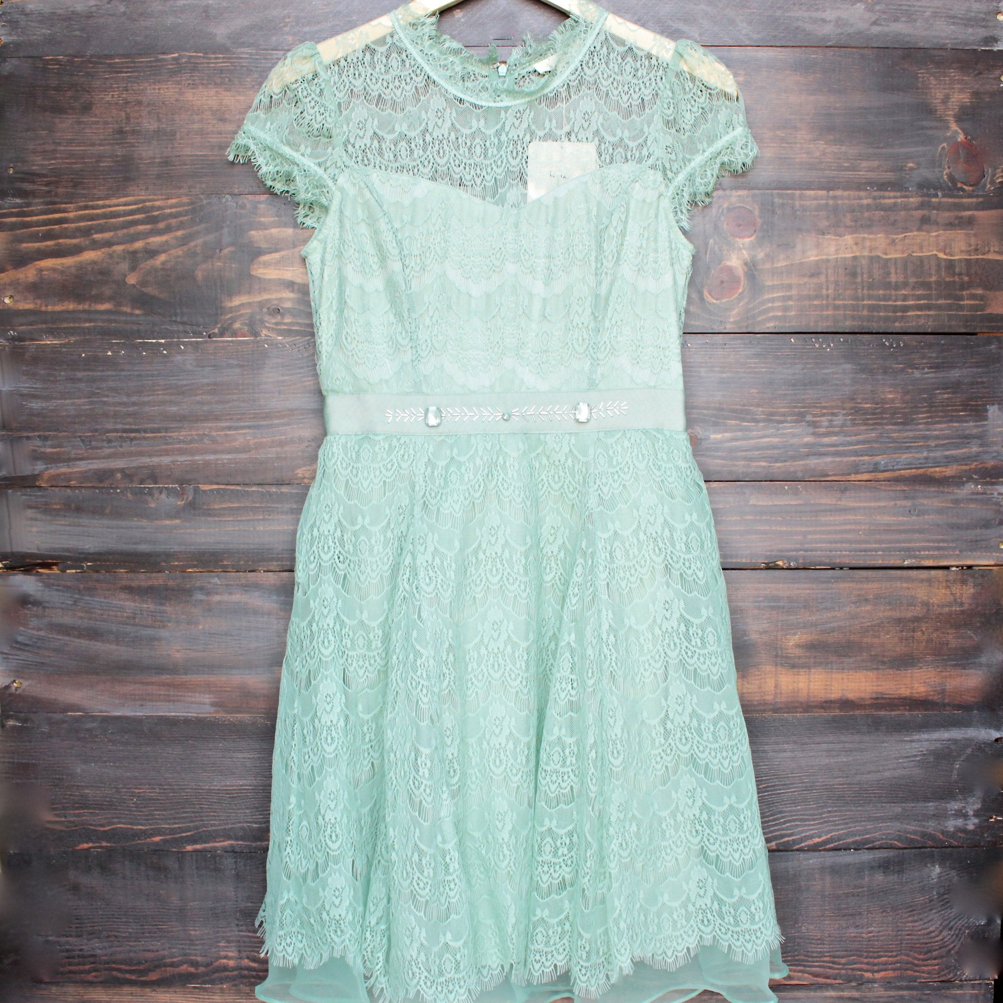 Image of Final Sale - Belle of the Ball Dress by Ryu in Sage