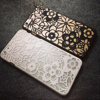 Fashion flowers phone case for iphone 5 5s SE 6 6s 6plus 6s plus + Nice gift box!
