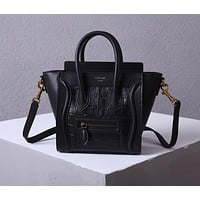 Céline Women's Leather Shoulder Bag Satchel Tote Bags Crossbody