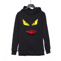 Indie Designs Fendi Inspired Monster Hoodie