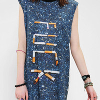 Urban Outfitters - CULT By Lip Service F*ck Cigs Muscle Tunic Tee