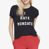 GRAPHIC TEE - I HATE MONDAYS from EXPRESS