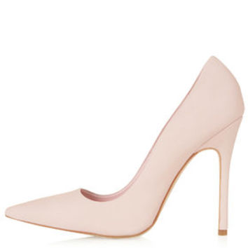 GALLOP Nubuck Court Shoes - Pink