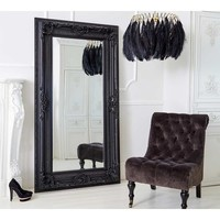 Double-Framed Black French Mirror | Luxury Mirror