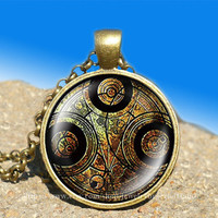 Dr Who masters fob watch glowing vintage pendant-necklace ready for gifting Buy 3 and get the 4th one free