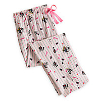 Mickey and Minnie Mouse Lounge Pants for Women   Disney Store