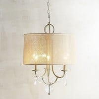 Iron & Crystal Pendant Light