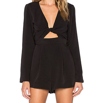 The Fifth Label Just For Now Romper in Black