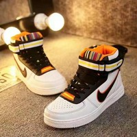 """""""Nike Air Force 1 x Givenchy"""" Unisex Sport Casual High Help Shoes Sneakers Couple Plat"""