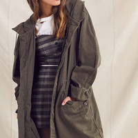 Vintage Surplus Longline Military Jacket | Urban Outfitters