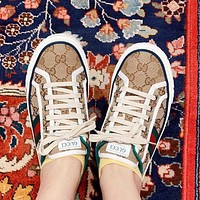 GUCCI Vintage classic logo daddy shoes