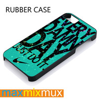 Mint Nike With Space Galaxy iPhone 4/4S, 5/5S, 5C, 6/6 Plus Series Rubber Case