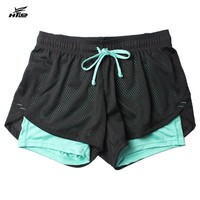Layer Shorts Women Skinny Fitness Shorts Women Elastic Casual Shorts