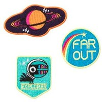 Yoobi Adhesive Patches Far Out 3pk - Multicolor